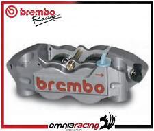 Pinza Radiale Brembo Racing Monoblocco CNC P4 32/36 Interasse 108mm (SX) Titanio