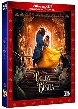 LA BELLA E LA BESTIA - Live Action 3D (2 BLU-RAY 3D + 2D) WALT DISNEY