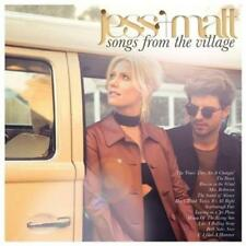 JESS & MATT Songs From The Village (SIGNED COPY Plus PEN) CD NEW