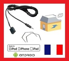 CABLE AUXILIAIRE MP3 OPEL CD30 MP3 CD70 NAVI CD40 OPERA DVD90 CABLE + 2 cles