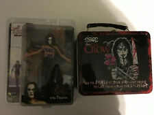The Crow SIGNED LOT,Neca figure,Lunchbox,James Obarr,reel toys,cult classics