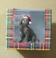 Sandicast Brown Labradoodle Dog Christmas Ornament