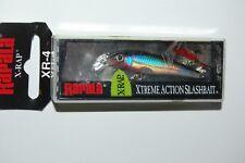 """rapala x-rap xrap xr-4 xr04 s silver 1 1/2"""" 1/16oz suspending trout lure"""