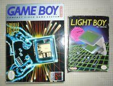 Original Nintendo Game Boy With 18 games & Light/Magnifier attachment