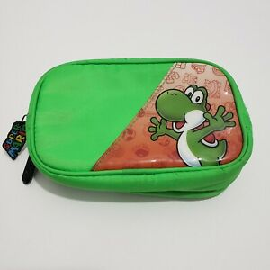 Nintendo DS Super Mario Yoshi Padded Zipper Travel Carrying Case Pouch