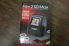 Ion Film 2 SD MAX 23MP Ultra-High-Resolution Slide and Negative Scanner NEW