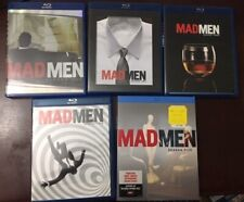 Mad Men Seasons 1-5 Collection (Blu-ray Disc, 15-Disc Set)