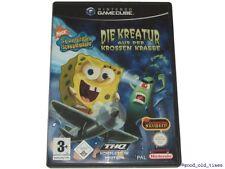 ## Spongebob: Die Kreatur aus der krossen Krabbe - GameCube / GC Spiel - TOP ##