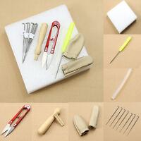 Needle Felting Starter Kit Craft Kit Wool Felt Tools Mat + Scissors + Needle