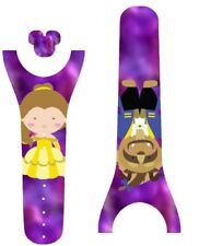 Disney Magic Band 2 Decal Stickers Skin Beauty & the Beast Inspired Belle
