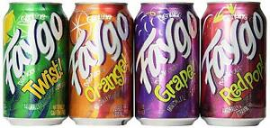 Faygo Pop 12 cans 355ml American Import 9 Flavours