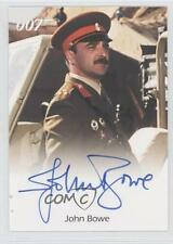2005 #NoN John Bowe as Colonel Feyador (The Living Daylights) Auto Card e6y