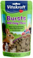LM Vitakraft Bursts Treat for Rabbits, Guinea Pigs & Hamsters - Wild Berry