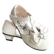 Scarpe Sandali bianchi medi per bambine dai 2 ai 16 anni