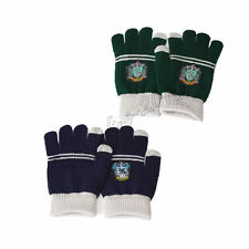 2pcs Harry Potter Ravenclaw & Slytherin House Touch Gloves Mittens Xmas Gift