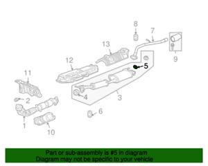 ( 1 ) GENUINE HONDA/ACURA 18303-SM4-020 GASKET - Pipe/Muffler