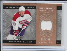 07-08 Artifacts Michael Ryder Treasured Swatches Jersey #d/299