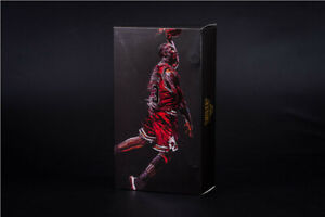COMPLETE-1/9 Scale Michael Jordan #23 Chicago Bull Model Action Figure Toy