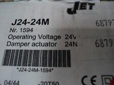 JET GAMMA j24-24m smorzatore ATTUATORE 16mn 24V AC / DC J24 24 M