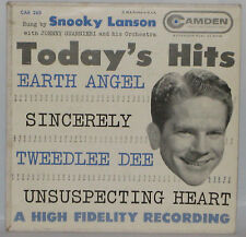 "Snooky Lanson Today's Hits 7"" 45rpm EP Promo Camden CAE 263 PREVUE Not For Sale"