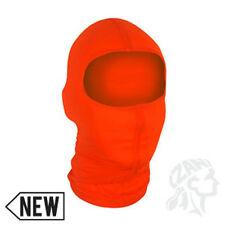 NEW High Visibility Hunter Orange Nylon Balaclava Ninja Swat Face Mask Liner