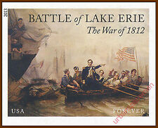 4805a War of 1812 Battle of Lake Erie 2013 Imperf single stamp No Die Cuts