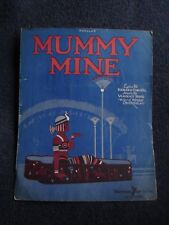 Antique Sheet Music Mummy Mine