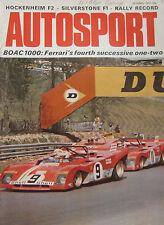 AUTOSPORT magazine April 20/4/1972 Audi Coupe road test, Allard