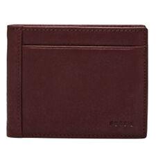 Fossil ML3899 - Neel Flip ID Bifold Wallet - Dark Cherry 014