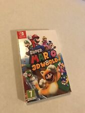 Super Mario 3D World Switch Limited Cover VERY EXCLUSIVE