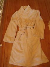 Mens Plush Spa Bath Robe LS Uomo La Senza Soft  Size S-M White