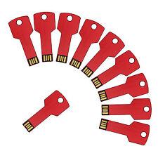 Lot 10 1GB USB Flash Drive 1G Thumb Memory Pen Stick Wholesale Key Bulk Pack