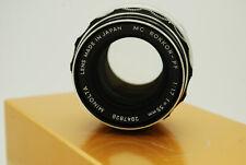 Konica Minolta Minolta Rokkor PF Rokkor-PF 55mm f/1.7 MF MC PF Lens