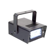 BeamZ Mini LED Effetto Strobo 10W e 24 LED Velocità Frequenza Flash Regolabile