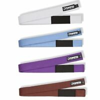 Fumetsu BJJ Ranked Belt Adult Brazilian JiuJitsu Belts A1 A2 A3 A4 White Blue