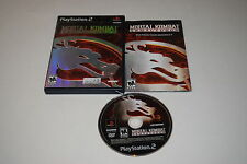 Mortal Kombat Armageddon Sony Playstation 2 PS2 Video Game Complete