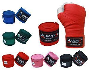 Aamron ® 4.5m Hand Wraps Inner MMA Boxing Gloves Bandages Training Muay Thai HWC