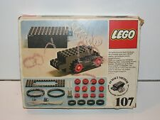 LEGO SYSTEM No 107 UNIVERSAL MOTOR SET IN ORIGINAL BOX 1970s DENMARK