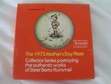 SCHMIDD BROTHERS-1973 MOTHER'S DAY COLLECTOR PLATE - NIB - BERTA HUMMEL
