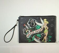 Disney Tinkerbell Tattoo Clutch Wristlet