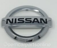 Genuine 2013-2017 Nissan Versa Note Front Chrome Grille Emblem OEM NEW