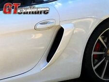 FOR  PORSCHE  981 GT4  Boxster Cayman GTS SIDE AIR INTAKES VENTS SCOOPS GRILLES