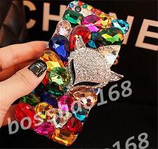 Handmade Bling Clear Crystal Diamond Soft TPU back thin Phone Case Cover Skin 14