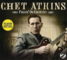 CHET ATKINS - PICKIN' ON COUNTRY 2 CD NEW!