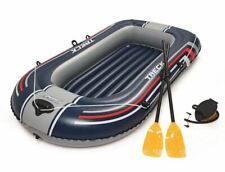 Canot Bestway 228 CM Angelboot Air-Boat Badeboot Tendre Dériveur