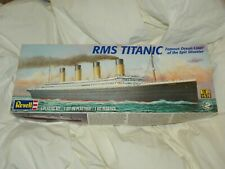 REVELL RMS TITANIC PLASTIC MODEL KIT 1:570 AGES 10 = MADE IN U.S.A. NO.85-0445