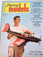 Flying Models Magazine Sun Devil By Clair Sieverling April/May 1961 082317nonrh