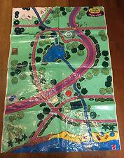 Polly poche Mini  Pollyville Tapis de jeu Plan de jeu ZB pour Magical Mansion
