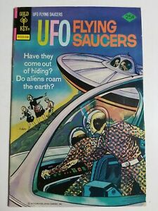 UFO Flying Saucers (1968) #7 - Very Good