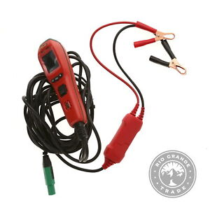 USED Power Probe PP401AS IV Diagnostic Test Tool with Color LCD Screen in Red